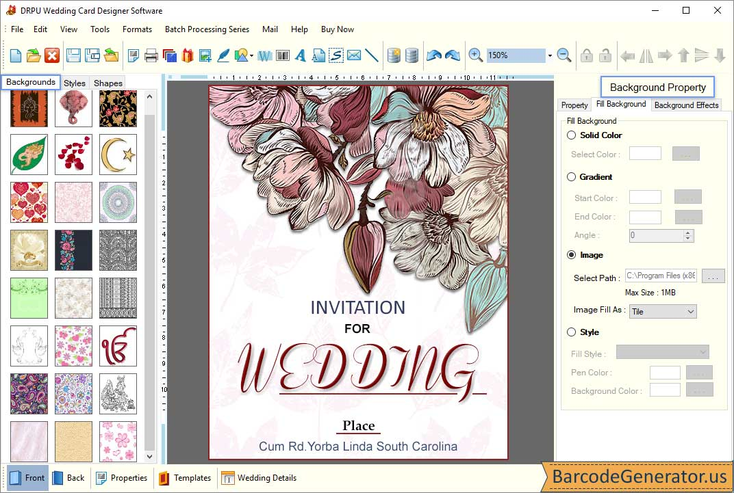Wedding Card Maker Software To Create Invitation Cards For Marriage